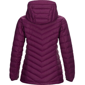 Peak Performance Frost Down Hooded Jas Dames rood